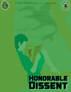 CCC-MMT 01-03: Honorable Dissent - A Price of the Red War Adventure