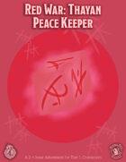 CCC-QUAKE-01: Red War: Thayan Peace Keeper