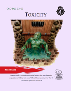 CCC-SQC 03-03 Toxicity