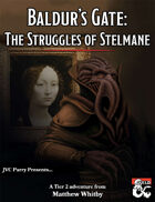 Baldur's Gate: The Struggles of Stelmane