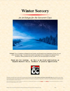 Winter Sorcery