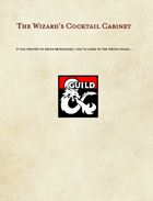 The Wizard's Cocktail Cabinet (5e)