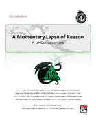 CCC‐ODFC03‐01 A Momentary Lapse of Reason