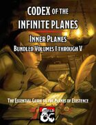 Codex of the Infinite Planes Inner Planes [BUNDLE]
