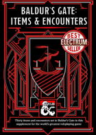 Baldur's Gate: Items & Encounters (5e)