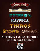 D&D Setting logo pack [BUNDLE]