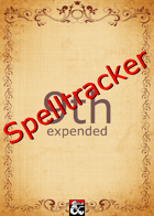 Spelltracker - Easy way to manage your Spell Slots