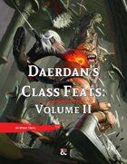 Daerdan's Class Feats | Volume II