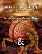 Monsters' Guide to Combat Encounters for DotMM L1-L5 [BUNDLE]
