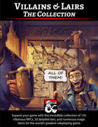 Villains & Lairs - The Collection [BUNDLE]