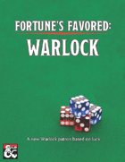 Fortune's Favored: Warlock