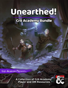 Unearthed! Crit Academy Best Sellers [BUNDLE]