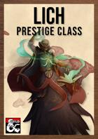 Lich Class by The Dungeon Inn