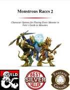 Monstrous Races 2 (Fantasy Grounds)