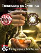 Thunderstones and Smokesticks: The Complete Guide to Mundane Alchemy (Fantasy Grounds)