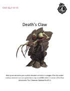 CCC-ELF-03-01 Death's Claw