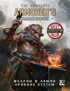 The Armorer's Handbook: Equipment Upgrade and Rune Magic System
