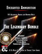 Enchanted Ammunition: The Legendary (Fantasy Grounds) [BUNDLE]