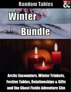 Winter Bundle - Random Tables [BUNDLE]