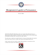 Morgenstern's guide to Permanence