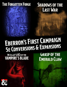 Eberron's First Campaign [BUNDLE]
