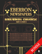 Eberron Newspapers: Korranberg Chronicle Bundle [BUNDLE]