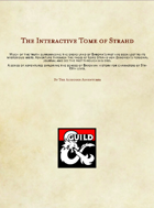 The Interactive Tome of Strahd