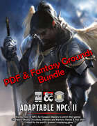 Adaptable NPCs II: PDF & Fantasy Grounds [BUNDLE]