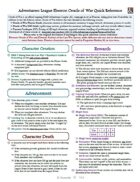 Adventurers League Eberron: Oracle of War Quick Reference