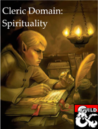 Cleric: Spirituality Domain