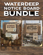 Waterdeep Notice Boards [BUNDLE]