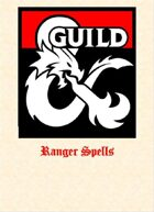 Ranger Spells