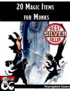 20 Magic Items for Monks