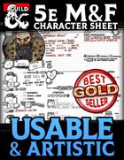 Mezzocielo&Friends Artistic Character Sheets