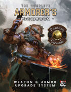 The Armorer's Handbook: Equipment Upgrade and Rune Magic System for 5E (Fantasy Grounds)