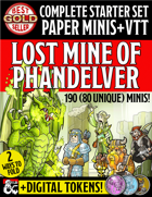 Starter Set Paper Miniatures: Lost Mines of Phandelver
