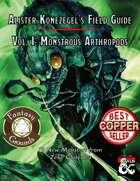 Alister Konezegel's Field Guide Volume I: Monstrous Arthropods (Fantasy Grounds)