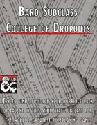 College of Dropouts