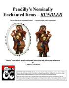 Pendilly's Nominally Enchanted Items [BUNDLE]
