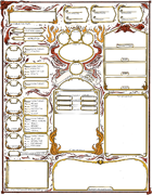 Descent into Avernus Character Sheet
