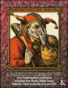 Bardic College of Fools (Pasquinadery)