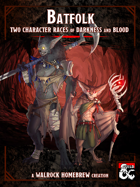 {WH} Batfolk! The Nycter and the Desmodu, Two Character Races of Darkness and Blood!