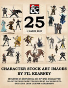 25 character stock art illustrations 1 march 2020