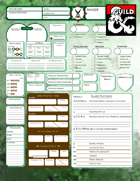 5th Edition Ranger Specific Character Sheets