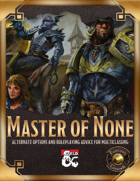 Master of None (Fantasy Grounds)