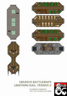 Eberron Battlemaps - Lightning Rail, version 2