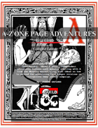 "A-Z One Page Adventures ""A"" Collected Edition"