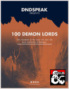 100 Demon Lords