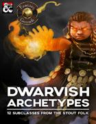 Dwarvish Archetypes (Fantasy Grounds)