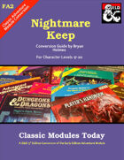Classic Modules Today: FA2 Nightmare Keep (5e)